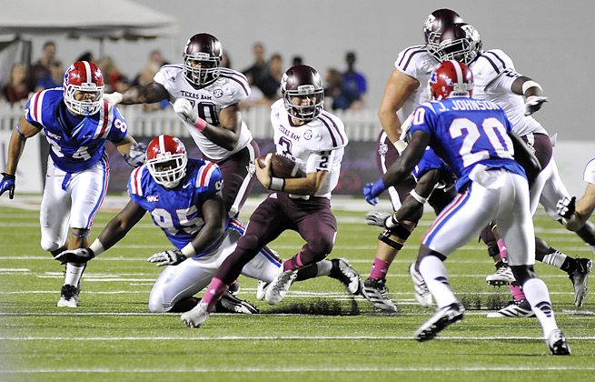 Up-tempo offenses, like the one run by Johnny Manziel at Texas A&M, may increase players' injury risk.
