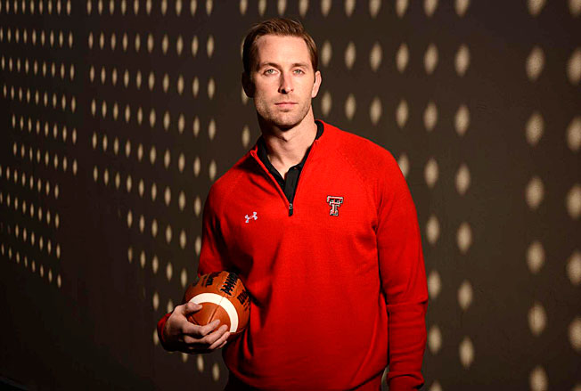 Texas Tech's Kliff Kingsbury, 33, enters this season as the youngest head coach in a BCS AQ conference.