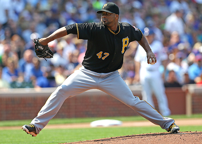 Francisco Liriano and the rest of the Pirates' pitchers boast a 3.16 ERA, but it's unlikely they can hold it.
