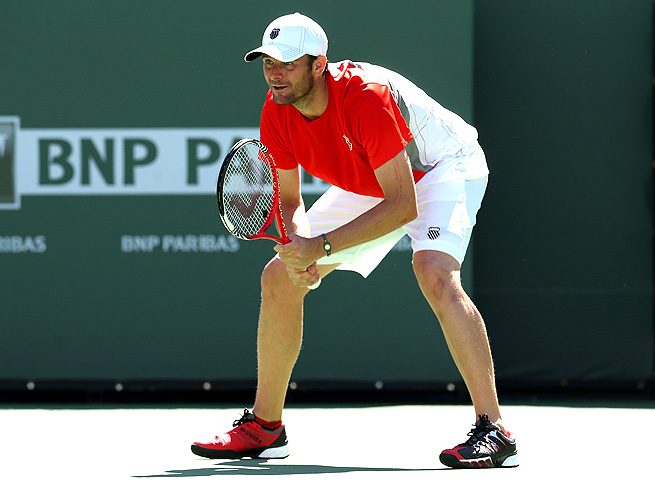 Mardy Fish last played in the BNP Paribas Open at Indian Wells, near his home, in March.