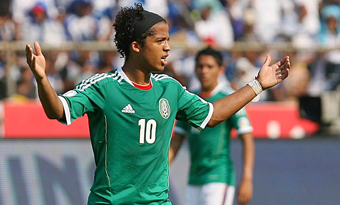 Giovanni Dos Santos has 68 caps with the Mexican National Team as of his signing with Villareal.