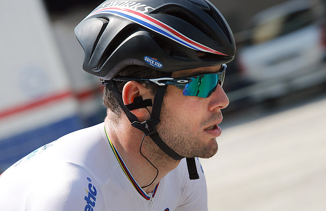 Mark Cavendish's team manager said the event made Cavendish, 'sad. he's not upset, just sad.'