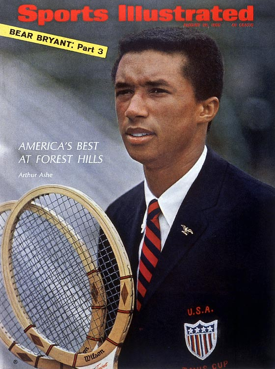 On the 70th anniversary of Arthur Ashe's birthday (July 10, 1943), here are SI's best photos of the three-time Grand Slam winner.