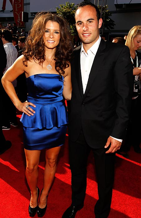 Danica Patrick and Donovan at the 2010 ESPY Awards in Los Angeles.