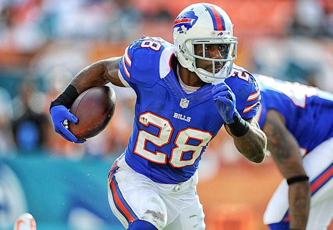 Thanks to his blazing speed, C.J. Spiller has the potential to break out as a fantasy star this season.
