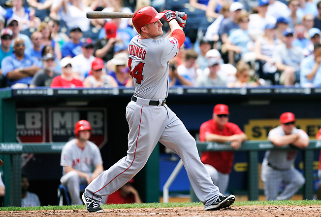 Mark Trumbo might be the only elite power hitter available in a fantasy trade at an affordable price.