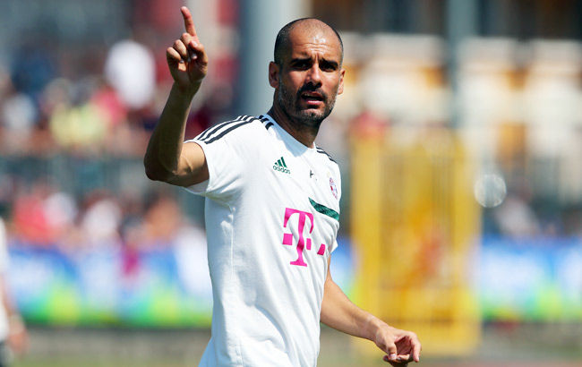 Pep Guardiola hopes Bayern Munich will be the first club to ever repeat its Champions League title.