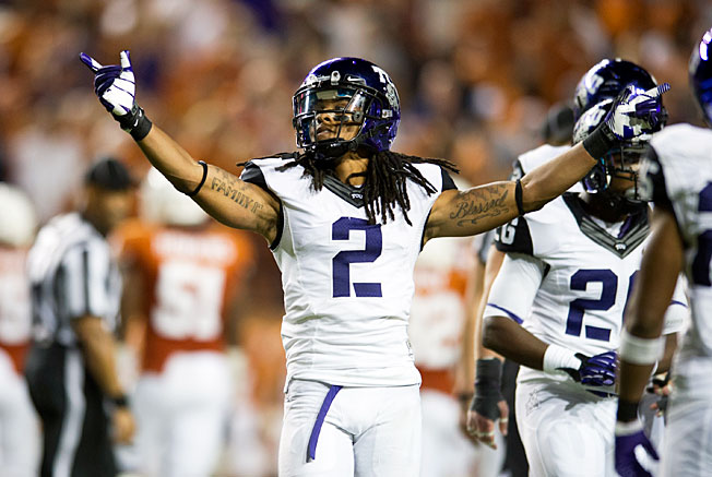 TCU's Jason Verrett reeled in six interceptions last season, tied for the fifth-highest total in the country.
