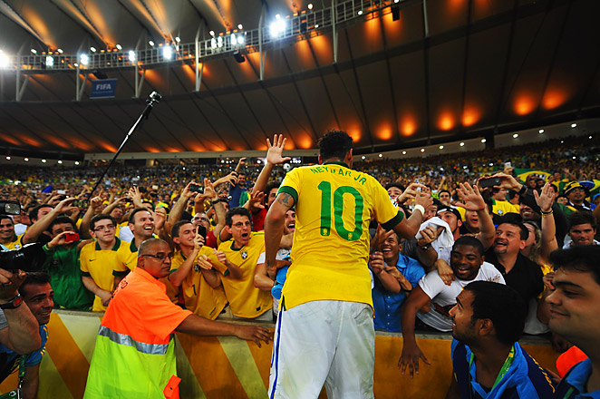 """Brazilian clubs will be talked to about a """"change of habit"""" from the fans at their matches."""