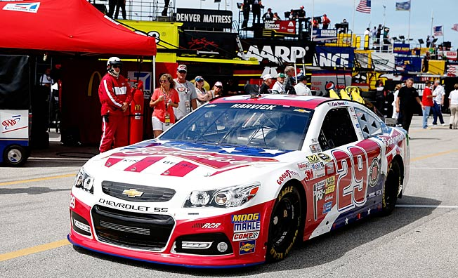 Kevin Harvick has been a Bud man since 2011, but the sponsor has been a NASCAR staple since the 80s.
