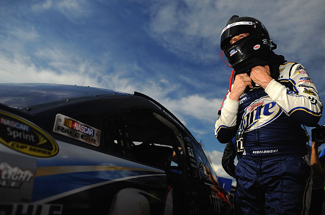 Brad Keselowski, the 2012 Sprint Cup series champion, has yet to win a race this season.