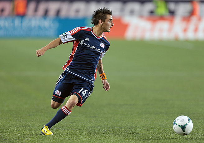 Although only 18 years old, Diego Fagundez has become the most dangerous attacker on New England.