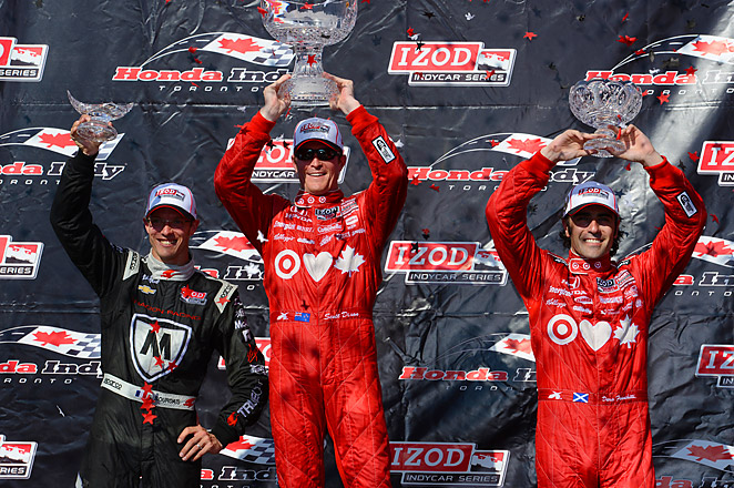 Scott Dixon's win was the 31st of his career and moved him into a tie for seventh all-time.