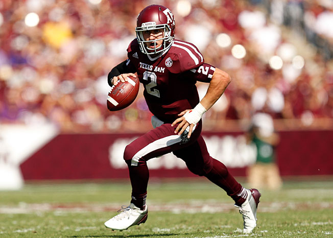 Heisman-winning QB Johnny Manziel went No. 1 overall in the 2013 hypothetical college football draft.