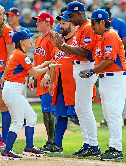 Photos from the 2013 All-Star softball game at Citi Field.