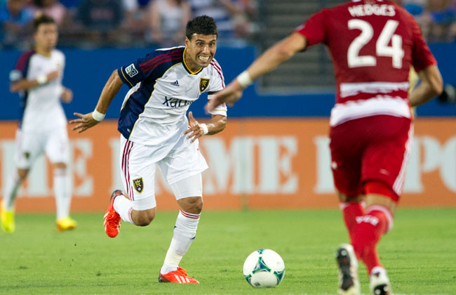 With many of RSL's big names missing, Javier Morales has been a constant in the Salt Lake midfield.