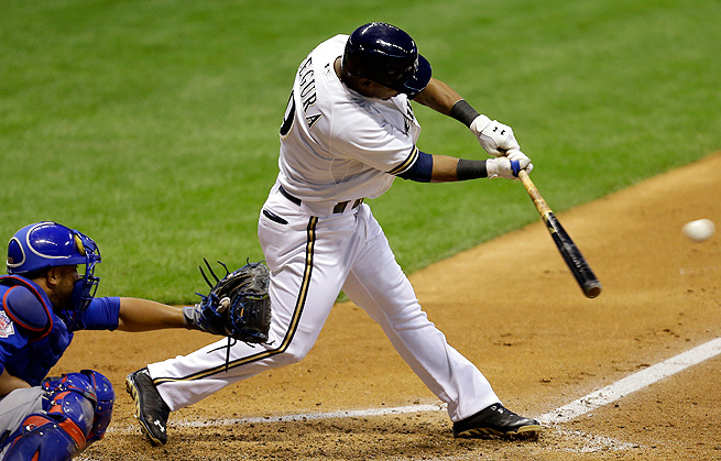 Shortstop Jean Segura has been a revelation for the Brewers and could be a first-round pick next year.