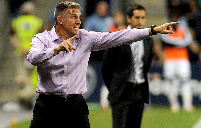 MLS All-Stars coach Peter Vermes said he's excited about the veteran club he'll have against AS Roma.