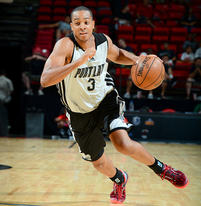 McCollum helped force overtime in one game in Las Vegas by drilling a game-tying three-pointer in the closing seconds.