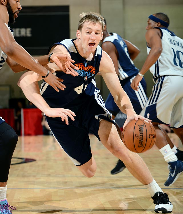 "After his summer-league debut in Vegas, Zeller said: ""It's going to be up and down to start with, just because I'm not used to playing this style of ball. The speed of the game, different rules of the NBA, different players, different game styles, it's a completely different game."""