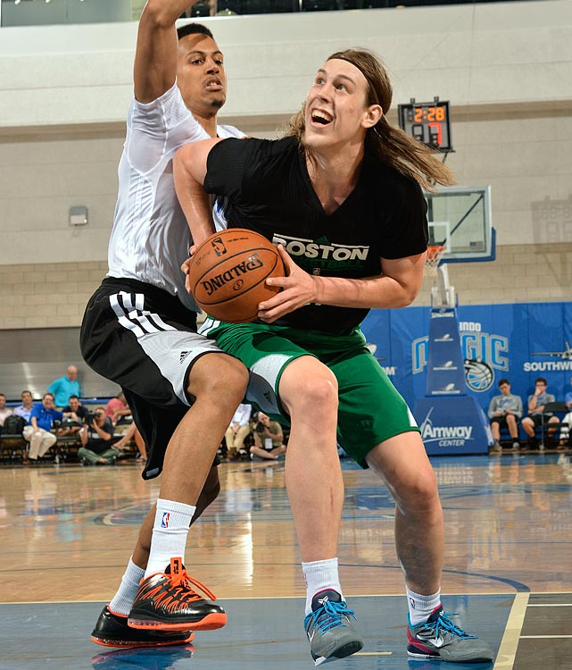 Olynyk averaged 18 points (on 57.8 percent shooting) and 7.8 rebounds in five games in Orlando.