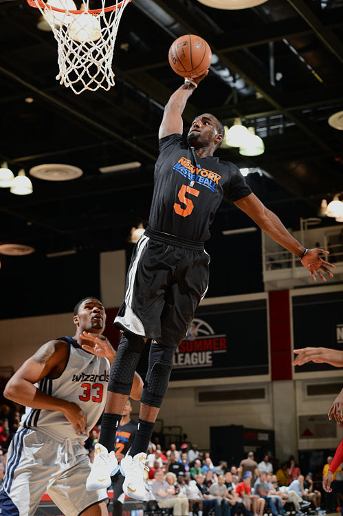 In his Knicks debut in Las Vegas, Hardaway finished with 13 points, five rebounds and three assists in 30 minutes.