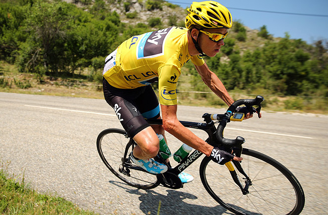 Chris Froome kept a healthy lead over rival Alberto Contador to keep the yellow jacket after the Tour's 16th stage Tuesday.