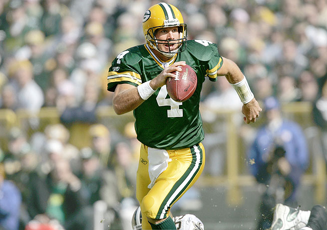 Brett Favre led the Packers to a title in 1996 and is a legend in Green Bay, but left the team on ill terms.