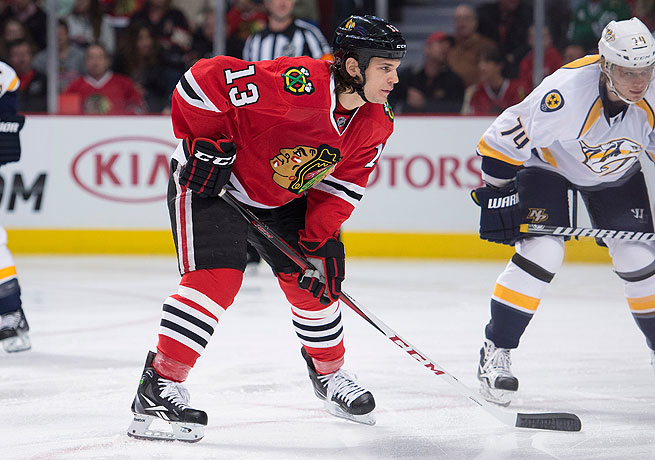 The feisty Daniel Carcillo won a Stanley Cup with the Blackhawks last season.