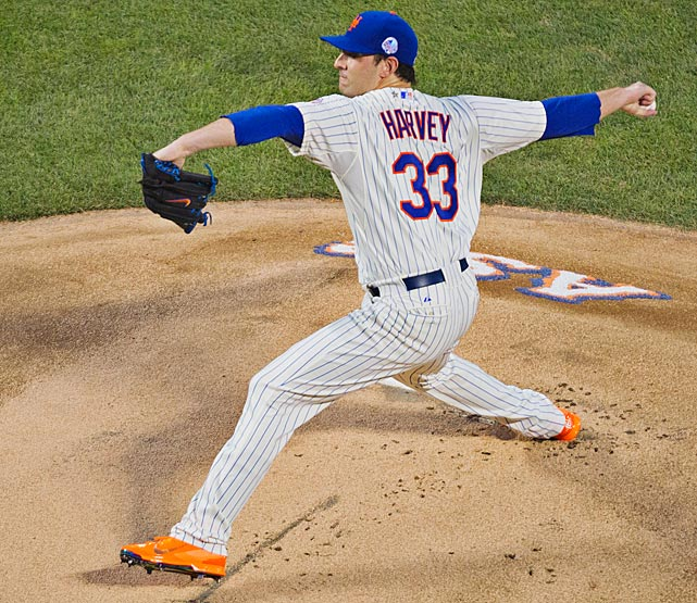 Matt Harvey got the start for the NL and allowed one hit and no runs while striking out three over two innings.