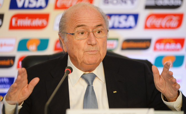 FIFA President Sepp Blatter has refused to say if he backed Qatar's successful bid for the World Cup.