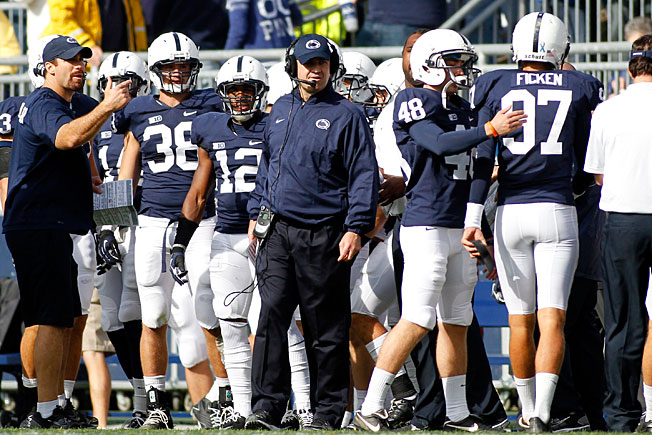 Despite having limited scholarship players on roster, Bill O'Brien led Penn State to eight wins last year.