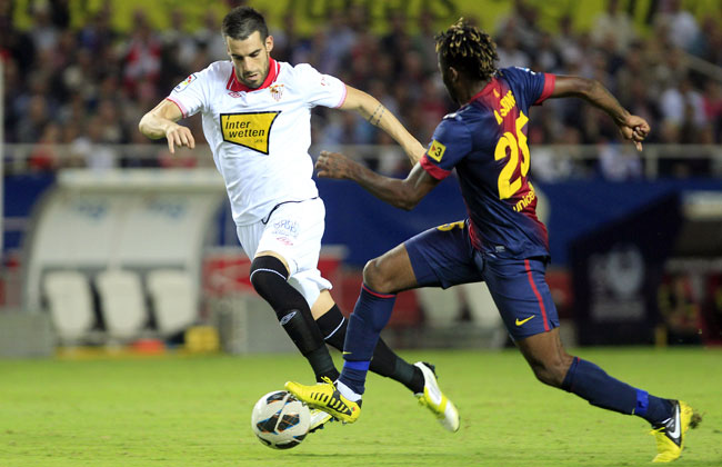 27-year-old striker Alvaro Negredo scored 70 goals in 139 appearances for Sevilla.