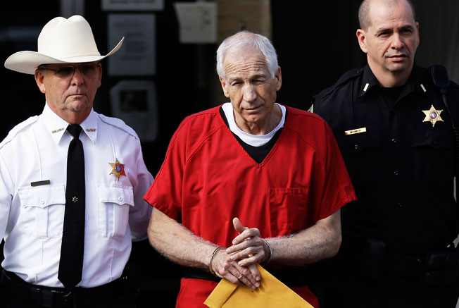 The son of ex-PSU assistant Jerry Sandusky seeks to have the names of him and his family changed.