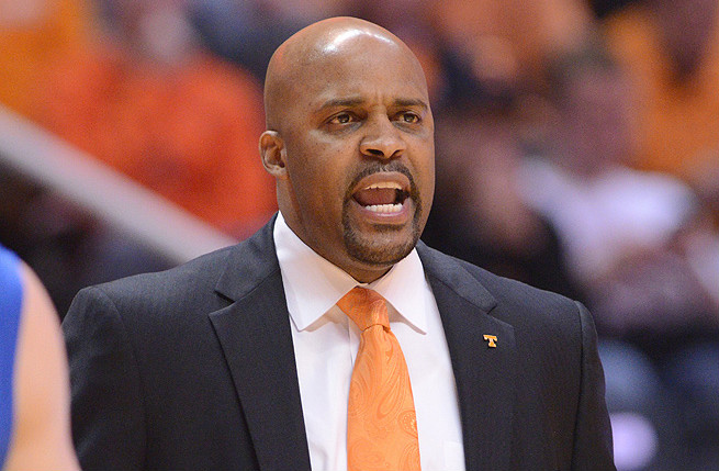 Head coach Cuonzo Martin has a 39-28 record at Tennessee and has led the Volunteers to two NIT appearances.