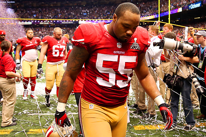 Ahmad Brooks is a seven-year NFL veteran, who had 46 tackles for the 49ers last season.
