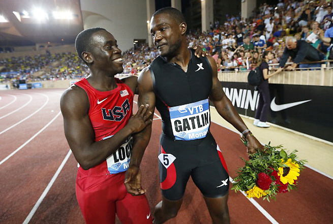 Justin Gatlin showed off his skills yet again by running a 9.94 to win at the Herculis meet in Monaco.