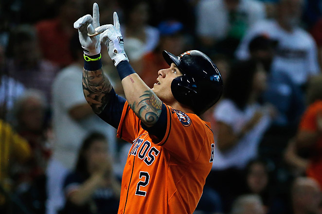 Rookie Brandon Barnes is the first Astro to hit for the cycle since Luke Scott did it back in 2006.