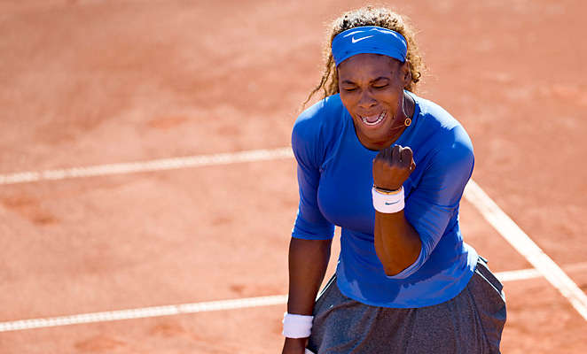 Serena Williams will meet Sweden's Johanna Larsson in the Swedish Open final after her semifinal win.
