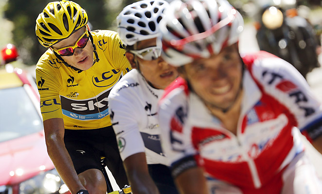 Chris Froome has effectively won the Tour de France with his performance in stage 20 on Saturday.