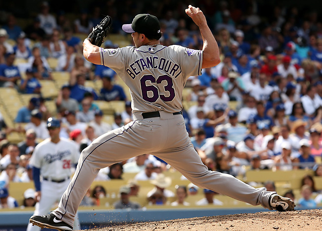 Rafael Betancourt had racked up 15 saves in 16 opportunities for the Rockies this season.
