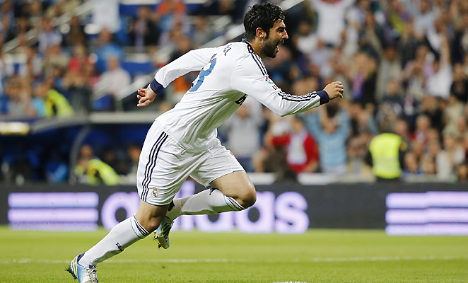Raul Madrid has found first team appearances increasingly hard to come by at Real Madrid.