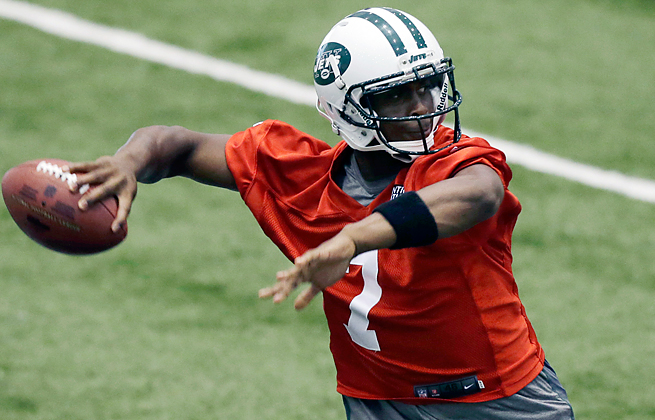 Smith left the Jets' first preseason game with an ankle injury after going down without being hit.