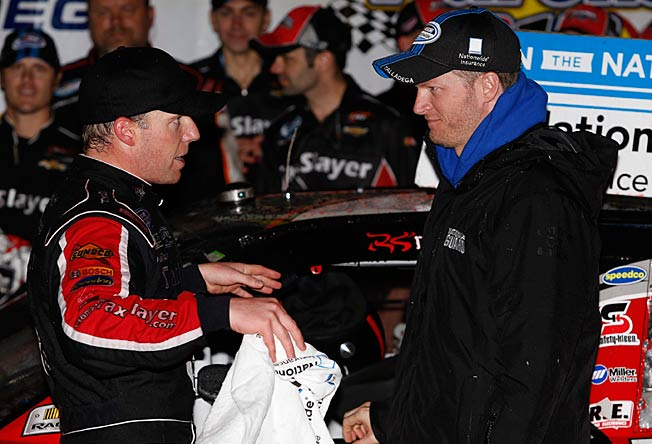 Regan Smith's friendship with Dale Earnhardt Jr. paid off with his current Nationwide ride.