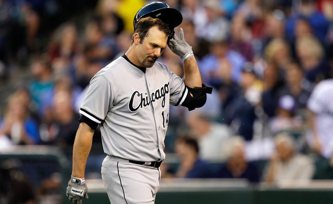 Paul Konerko was placed on the DL on July 3 with a lower back strain.