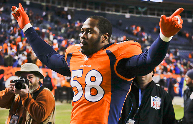 Von Miller is appealing a 4-game suspension from the NFL for violating the league's drug policy.