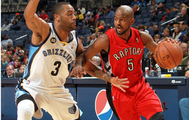 John Lucas averaged 53 points and 1.7 assists in a career-high 63 games with Toronto last year.