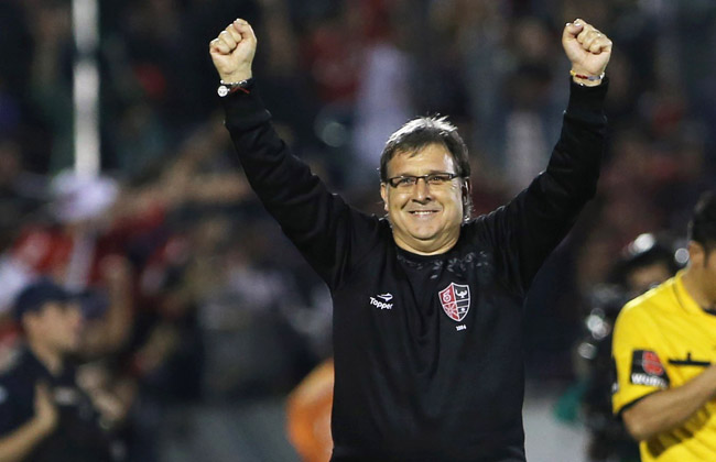 Gerardo Martino had been the coach of Newell's Old Boys in Argentina.