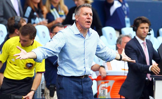 Sporting KC coach (and former player) Peter Vermes was elected to the U.S. Soccer Hall of Fame in April.