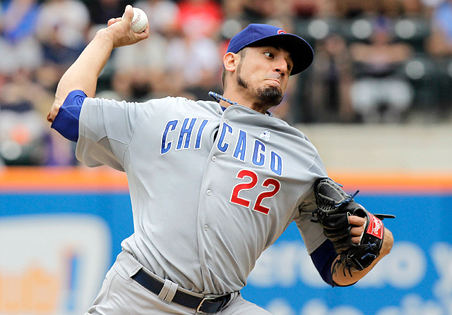With the Cubs this year, Matt Garza racked up a 3.17 ERA and 62 strikeouts through 71 innings pitched.